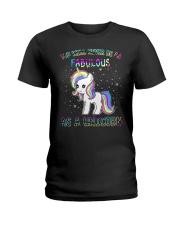 FABULOUS UNICORN T-SHIRT - BEST SHIRT FOR YOU Ladies T-Shirt thumbnail