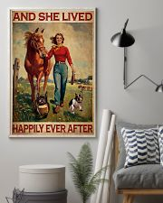 Frenchie And She Lived Happily Ever After 11x17 Poster lifestyle-poster-1