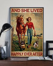 Frenchie And She Lived Happily Ever After 11x17 Poster lifestyle-poster-2