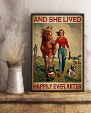 Frenchie And She Lived Happily Ever After 11x17 Poster lifestyle-poster-3