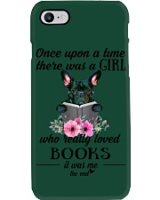 Once upon a time there was a girl frenchie Phone Case i-phone-7-case