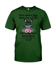 Once upon a time there was a girl frenchie Classic T-Shirt thumbnail