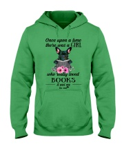 Once upon a time there was a girl frenchie Hooded Sweatshirt thumbnail