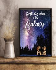 Best Dog Mom In The Galaxy yorkie mom 11x17 Poster lifestyle-poster-3