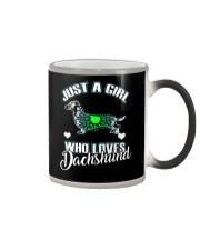 Just A Girl Who Loves Dachshund 3 Color Changing Mug thumbnail