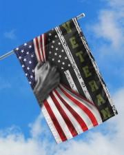 """Veteran Inside American Flag Thin Green Line Flag Front Door Decor 11.5""""x17.5"""" Garden Flag aos-garden-flag-11-5-x-17-5-lifestyle-front-16"""