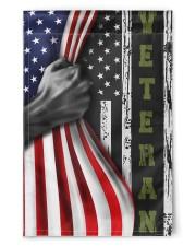 "Veteran Inside American Flag Thin Green Line Flag Front Door Decor 11.5""x17.5"" Garden Flag front"