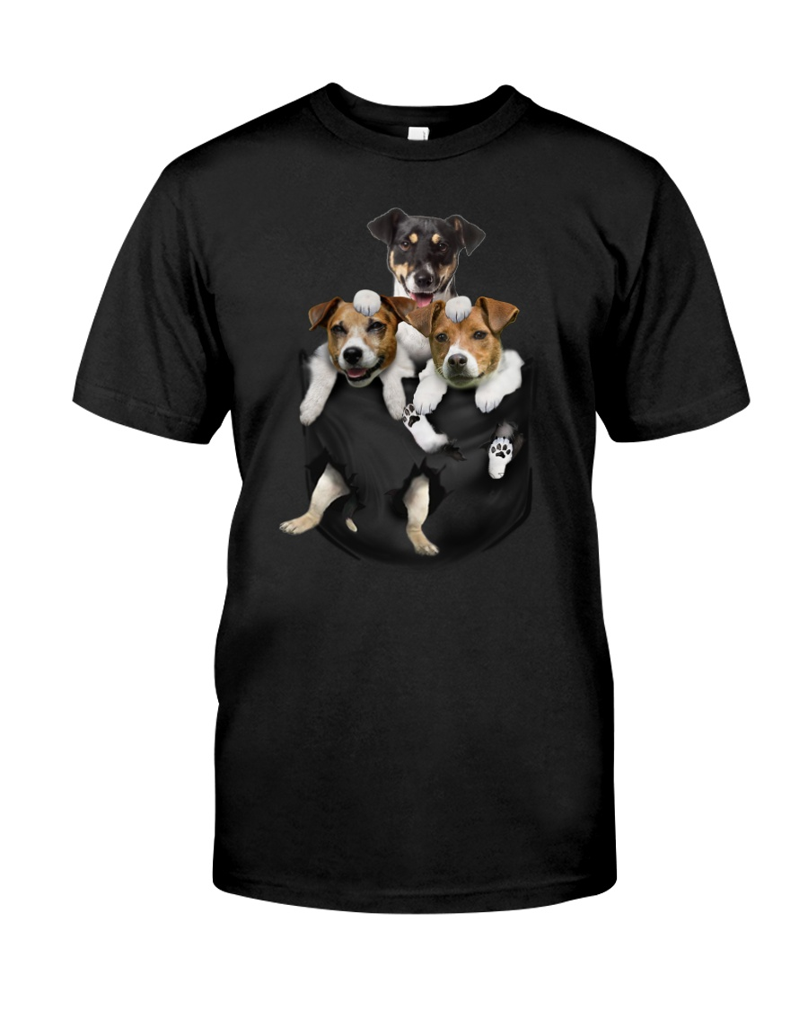 Jack Russell pocket Terrier edition Classic T-Shirt