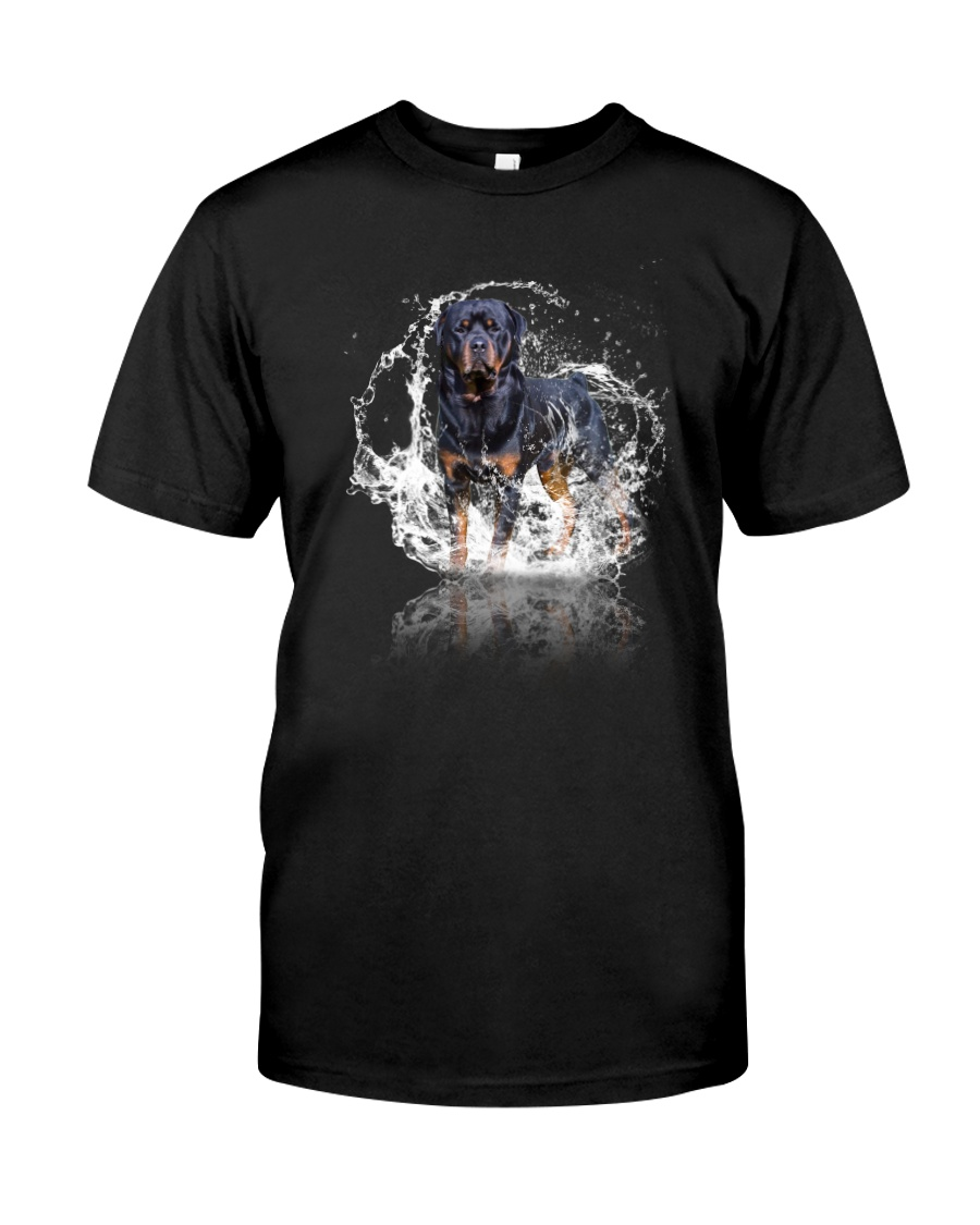 rottweiler size ao Classic T-Shirt
