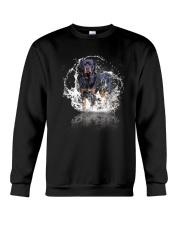 rottweiler size ao Crewneck Sweatshirt thumbnail