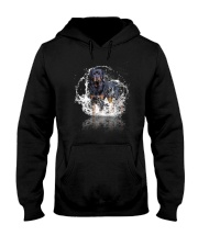 rottweiler size ao Hooded Sweatshirt tile