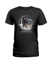 rottweiler size ao Ladies T-Shirt thumbnail