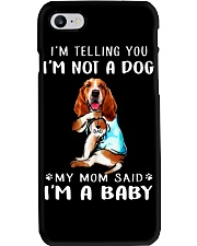 Basset Hound I'm Telling You I'm Not A Dog Phone Case thumbnail