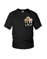 golden retriever T-shirt gift for friend Youth T-Shirt thumbnail