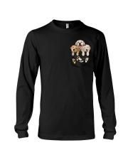 golden retriever T-shirt gift for friend Long Sleeve Tee thumbnail