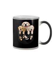 golden retriever T-shirt gift for friend Color Changing Mug thumbnail