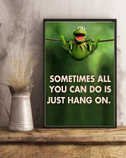 Sometimes All You Can Do Is Just Hang On kermit 11x17 Poster lifestyle-poster-3
