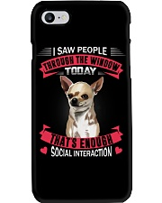 chihuahua Phone Case tile