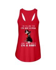 I'm Telling You I'M Not A Dog My Mom Bernese Mouta Ladies Flowy Tank thumbnail