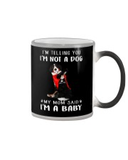 I'm Telling You I'M Not A Dog My Mom Bernese Mouta Color Changing Mug thumbnail