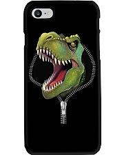 dinosaur zipper shirt Phone Case thumbnail