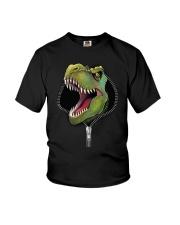 dinosaur zipper shirt Youth T-Shirt thumbnail