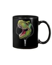 dinosaur zipper shirt Mug thumbnail