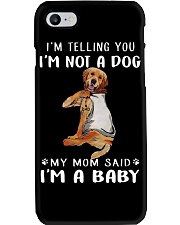 Golden Retriever I'm Telling You I'm Not A Dog Phone Case thumbnail