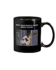 When I Hear People Talking About Chihuahua Coffee Mug thumbnail