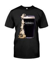 My Quarantine Routine pug Classic T-Shirt front