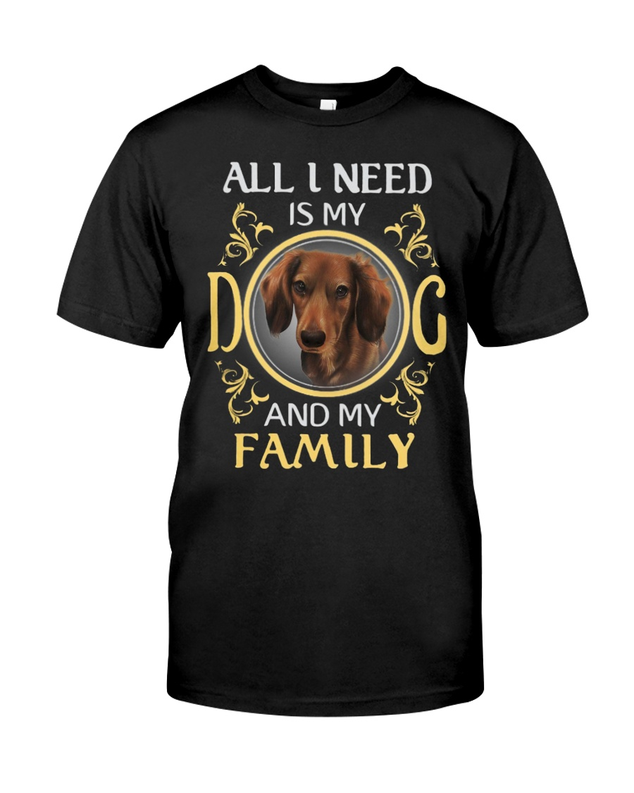 dachshund 2 Classic T-Shirt