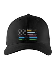Thin Line First Responder American Flag Embroidered Hat front