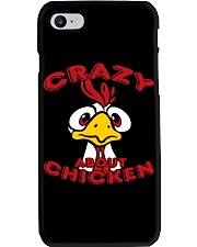 crazy-chicken T-shirt Phone Case thumbnail