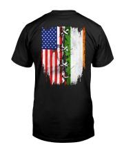 irelands flag Classic T-Shirt back