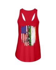 irelands flag Ladies Flowy Tank thumbnail