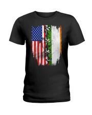 irelands flag Ladies T-Shirt thumbnail
