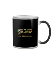 The Dadalorian Like A Dad Just A Way Cooler Color Changing Mug thumbnail
