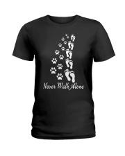 Never Walk Alone  Ladies T-Shirt thumbnail