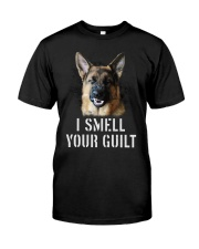 I Smell Your Guilt German Shepherd I Smell Classic T-Shirt front