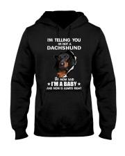 Dachshund I'm Telling You - Funny Dog shirts Hooded Sweatshirt thumbnail