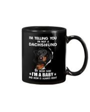 Dachshund I'm Telling You - Funny Dog shirts Mug thumbnail