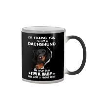 Dachshund I'm Telling You - Funny Dog shirts Color Changing Mug thumbnail