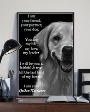 I Am Your Friend Your Partner  Golden Retriever 11x17 Poster lifestyle-poster-2
