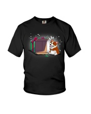 Bulldog T-shirt Cute Dog Youth T-Shirt thumbnail