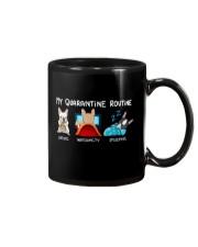 My Quarantine Routine frenchie3 Mug thumbnail