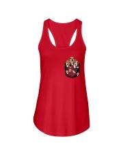 beagle T-shirt Ladies Flowy Tank thumbnail