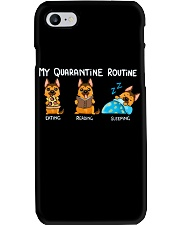 My Quarantine Routine German Shepherd2 Phone Case thumbnail
