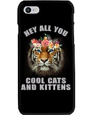hey all you cool cats and kittens tiger shit Phone Case thumbnail