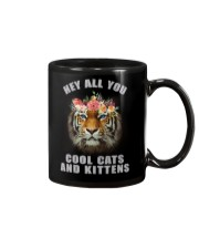hey all you cool cats and kittens tiger shit Mug tile