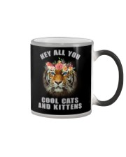 hey all you cool cats and kittens tiger shit Color Changing Mug thumbnail